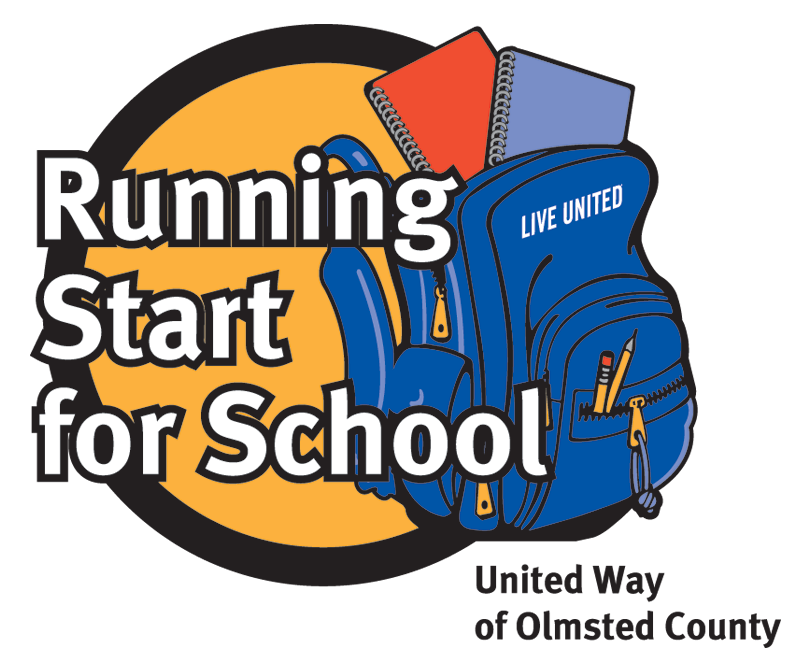 Running Start for School Logo