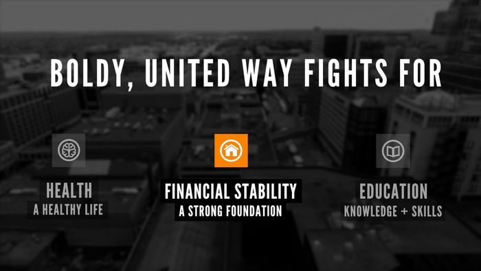 Bold, United Way fights for Financial Stability.